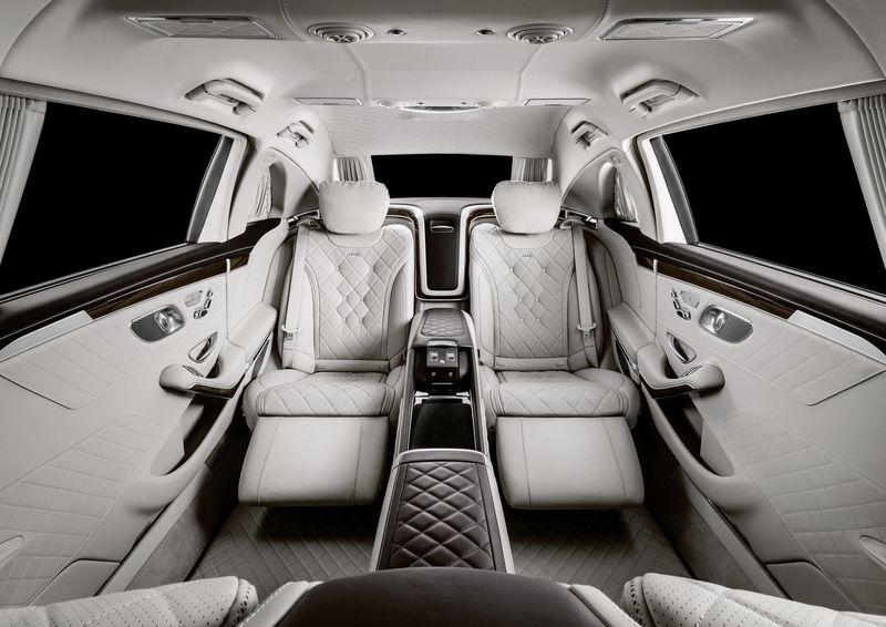 Mercedes-Maybach обновил лимузин Pullman 3