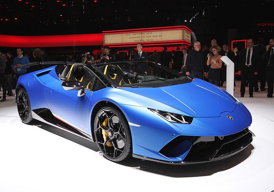 Самый крутой Lamborghini Huracan остался без крыши 1