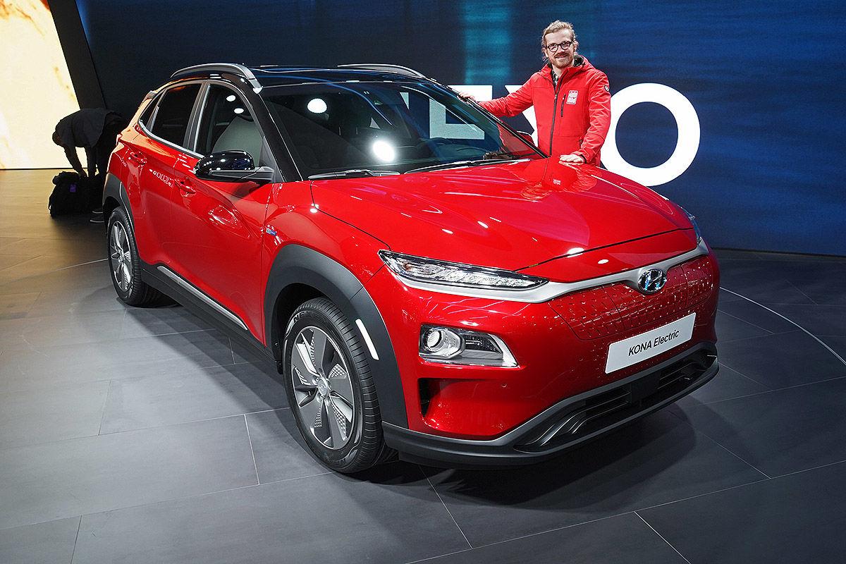 «Свежий взгляд»: обзор электрического Hyundai Kona 1