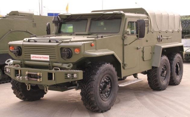 Белорусы построили военный грузовик-амфибию 1