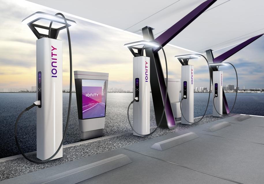 Ведущие мировые автопроизводители показали, как будут выглядеть их электрозаправки 1