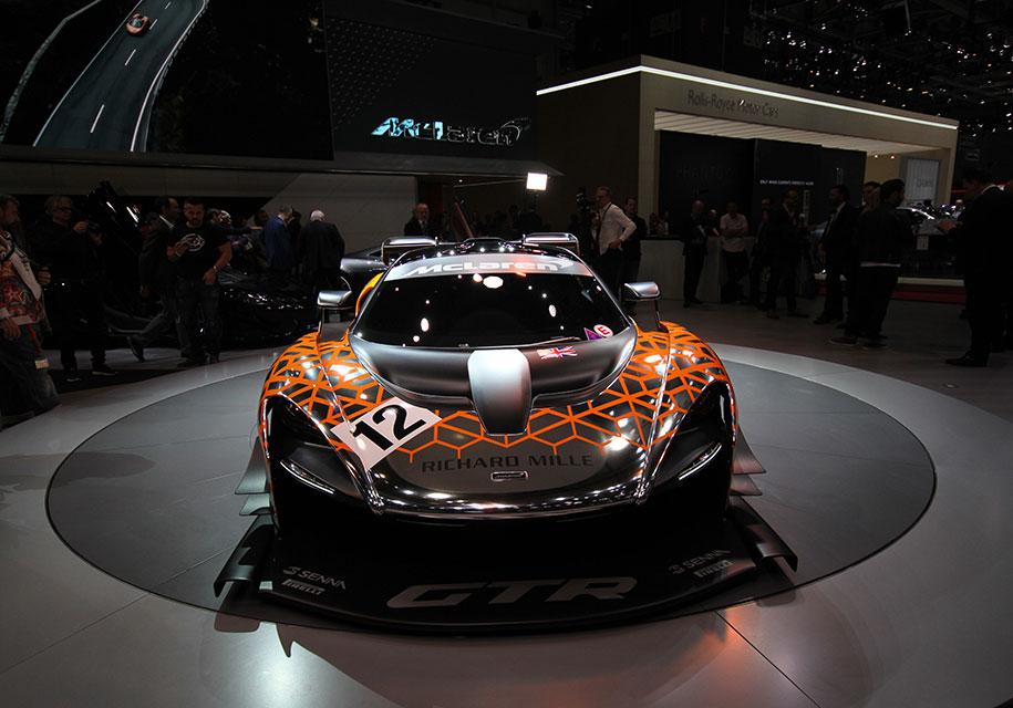 McLaren не станет выпускать трековую модификации «Сенны» 1