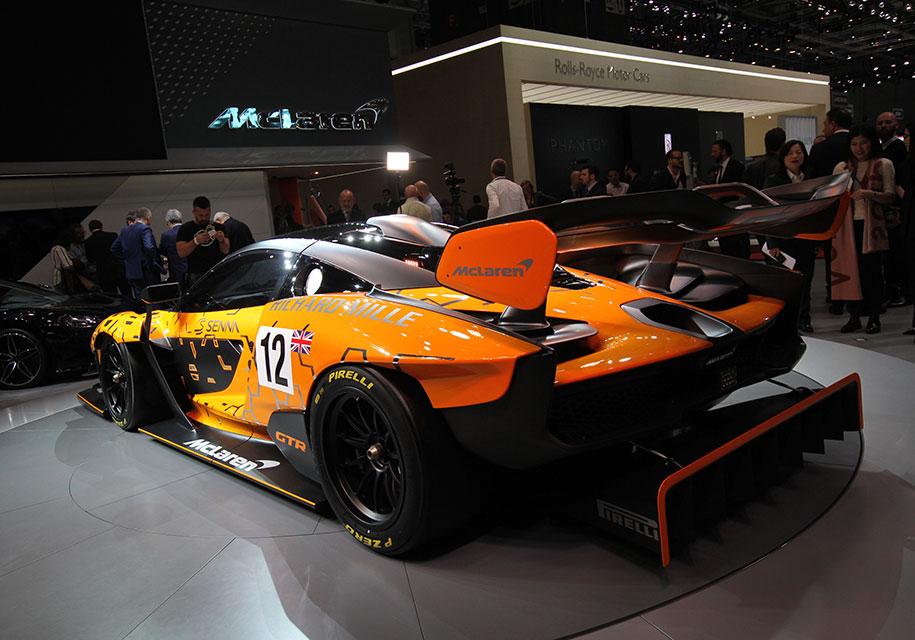 McLaren не станет выпускать трековую модификации «Сенны» 2