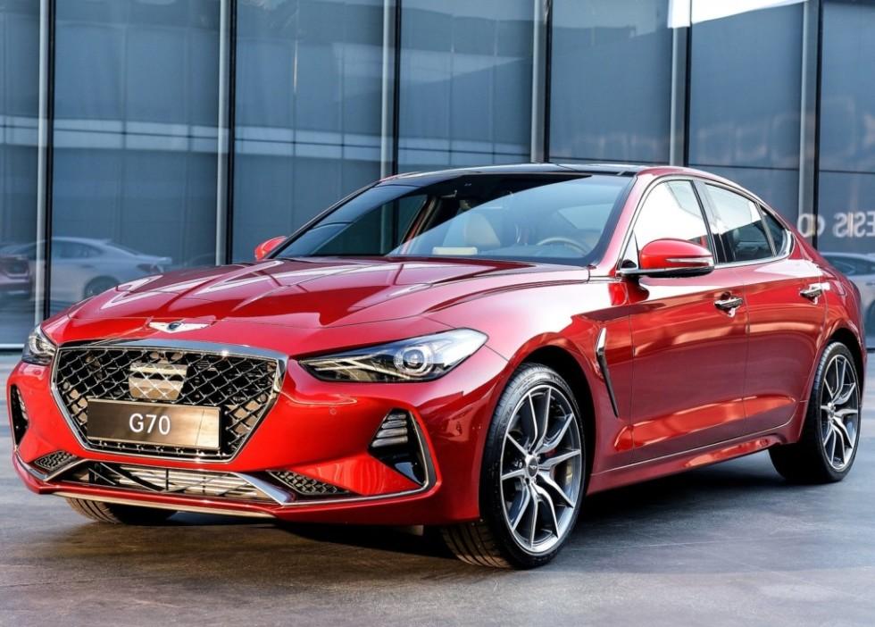 Премиальный бренд Genesis презентует новую модификацию седана G70 2