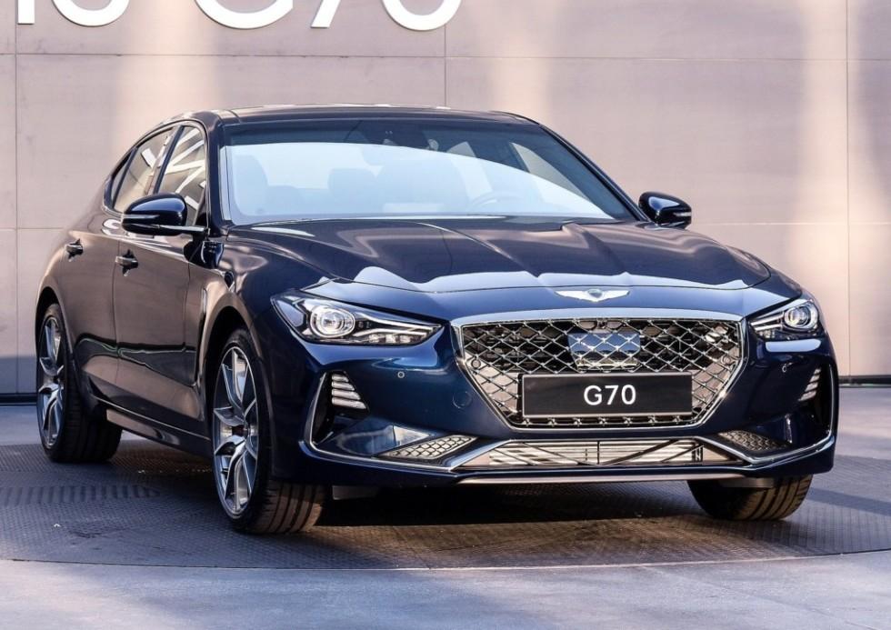 Премиальный бренд Genesis презентует новую модификацию седана G70 1