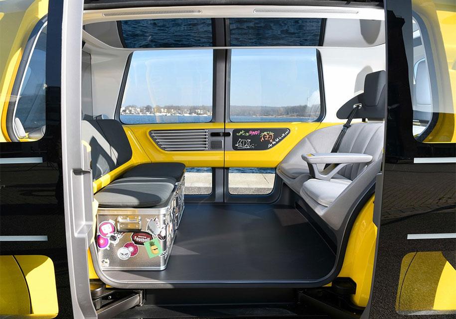 Volkswagen показал «школьный автобус» без руля и педалей 2