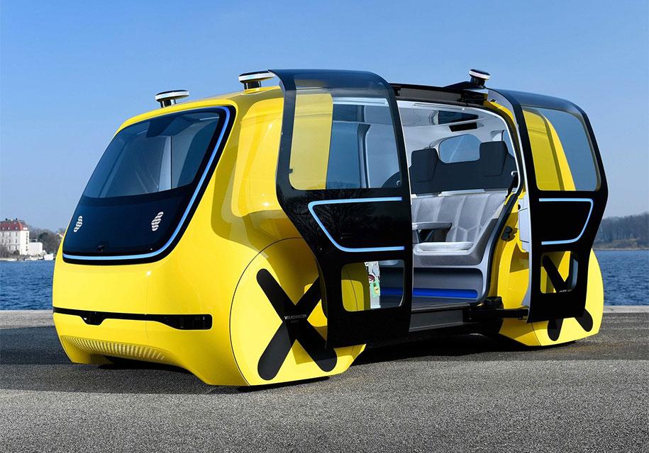 Volkswagen показал «школьный автобус» без руля и педалей 1