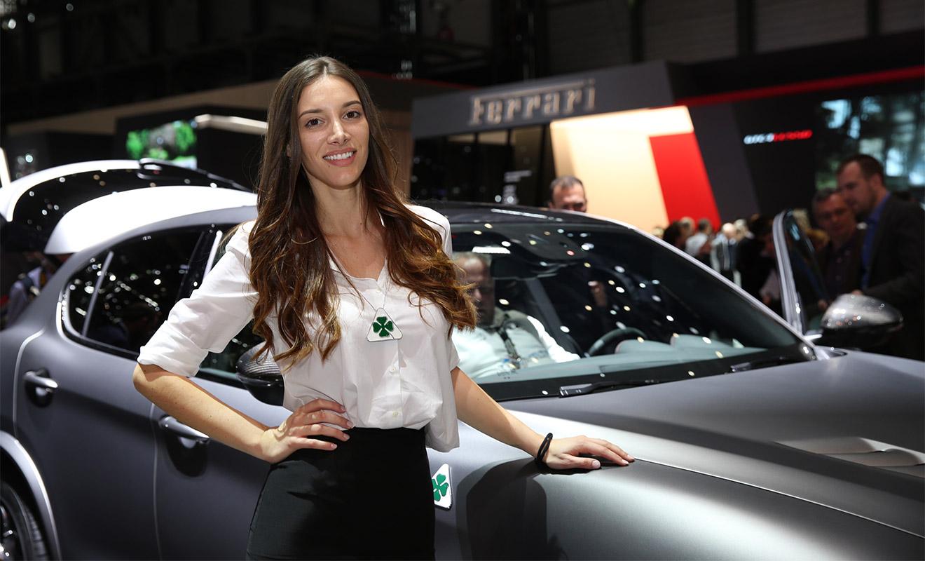 Самые прекрасные девушки Женевского автосалона 3