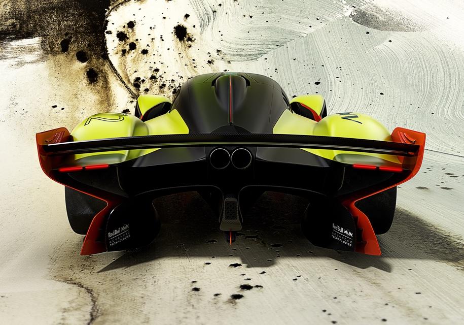Aston Martin представил 1115-сильную «Валькирию» 3