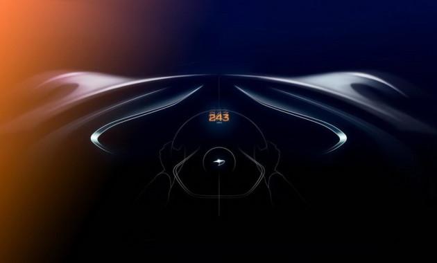 Появились новые тизеры самого быстрого McLaren в истории бренда 1