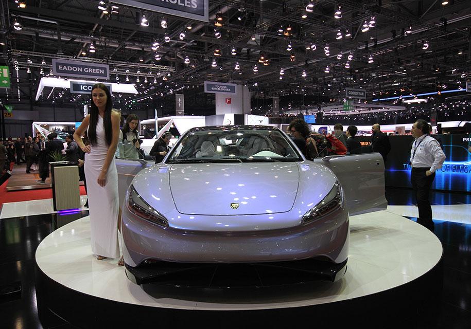 Китайцы презентовали электрокар «Венера» с внушительным запасом хода 1