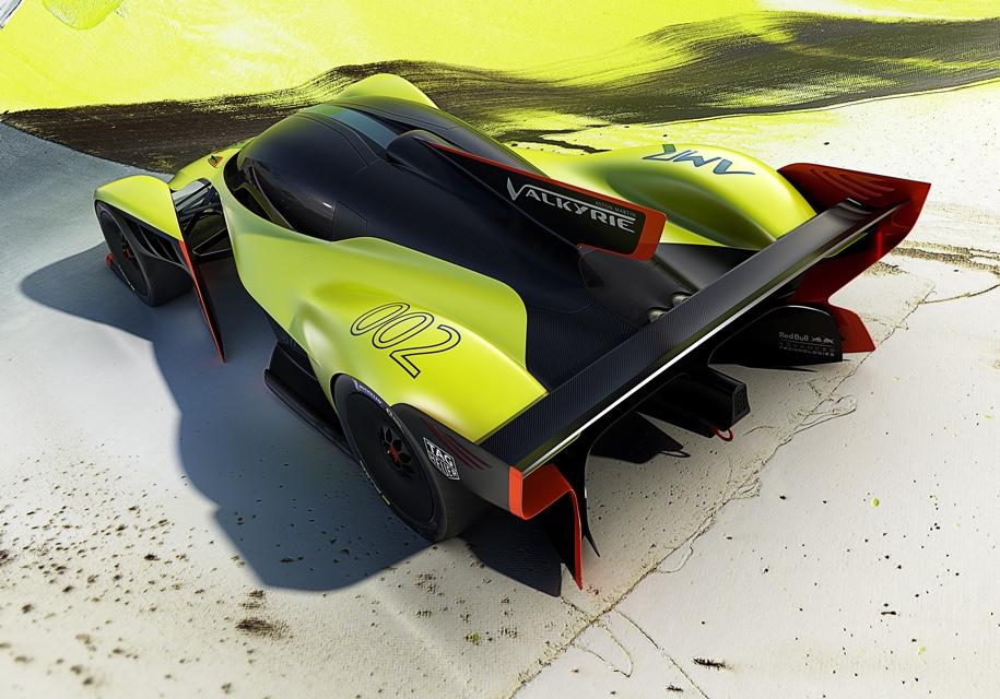 Aston Martin представил 1115-сильную «Валькирию» 2