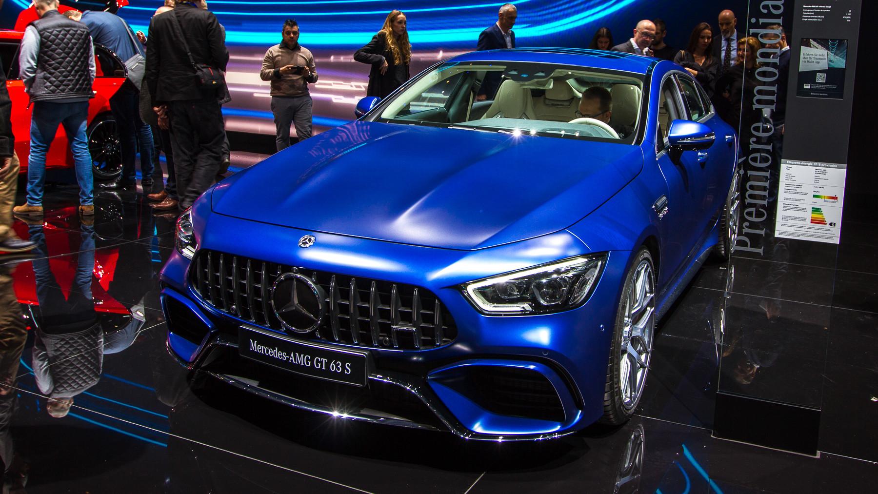 Mercedes-AMG представил пятидверный хэтчбек 1