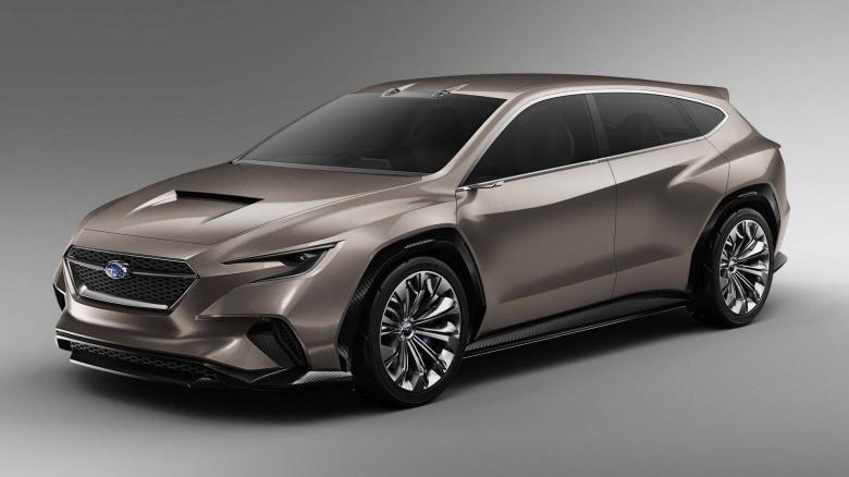 Компания Subaru «намекнула» на пятидверную «Импрезу» 1