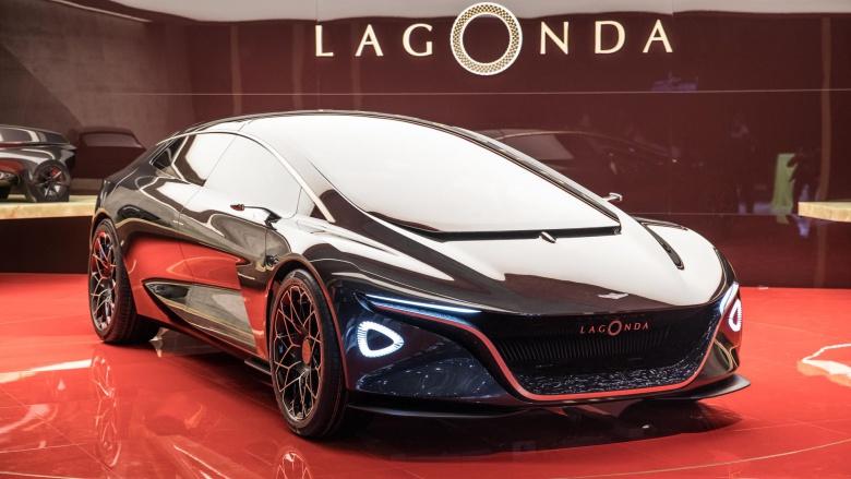 Lagonda попрощалась с ДВС 1