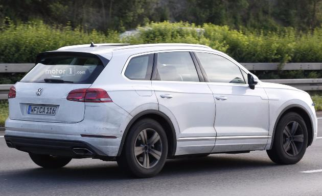 Volkswagen удивил видеороликом о новом «Туареге» 2