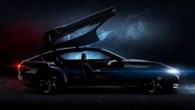 Pininfarina представит купе с огромными дверями-крыльями 1