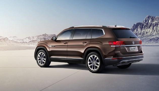 Volkswagen объявил начало продаж кроссовера Teramont 2