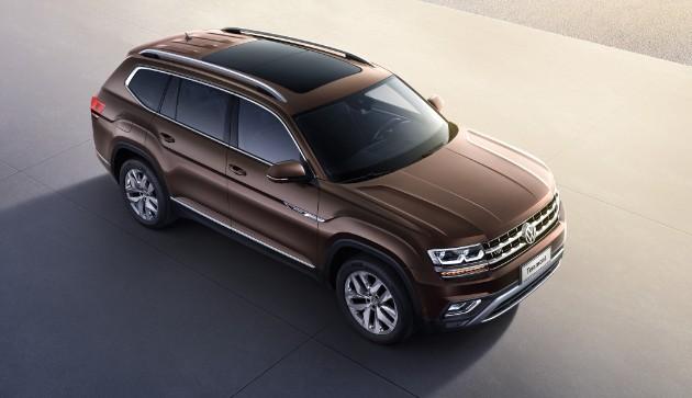Volkswagen объявил начало продаж кроссовера Teramont 1