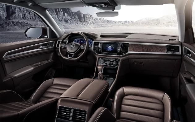 Volkswagen объявил начало продаж кроссовера Teramont 3