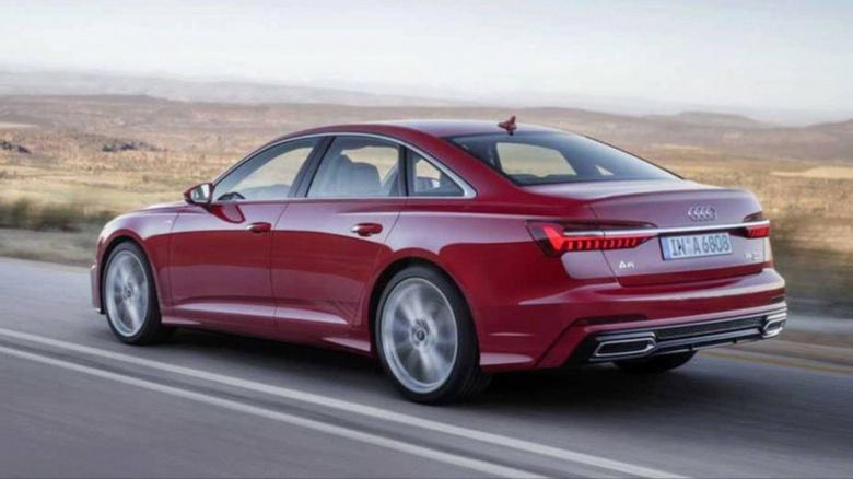 Опубликованы первые изображения новой Audi A6 2