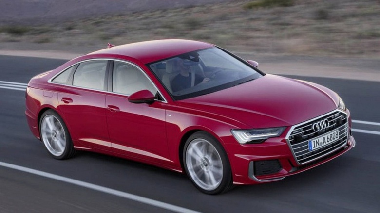 Опубликованы первые изображения новой Audi A6 1