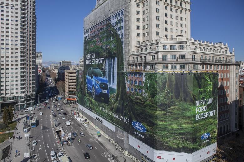 Ford установил самый большой в мире билборд 1