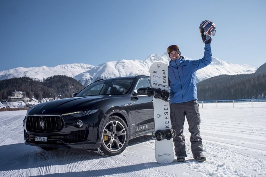 Maserati разогнал сноубордиста до 152 километров в час 2