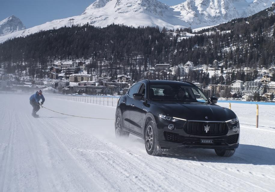 Maserati разогнал сноубордиста до 152 километров в час 1