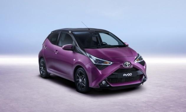 Toyota представит в Женеву новый Aygo 3