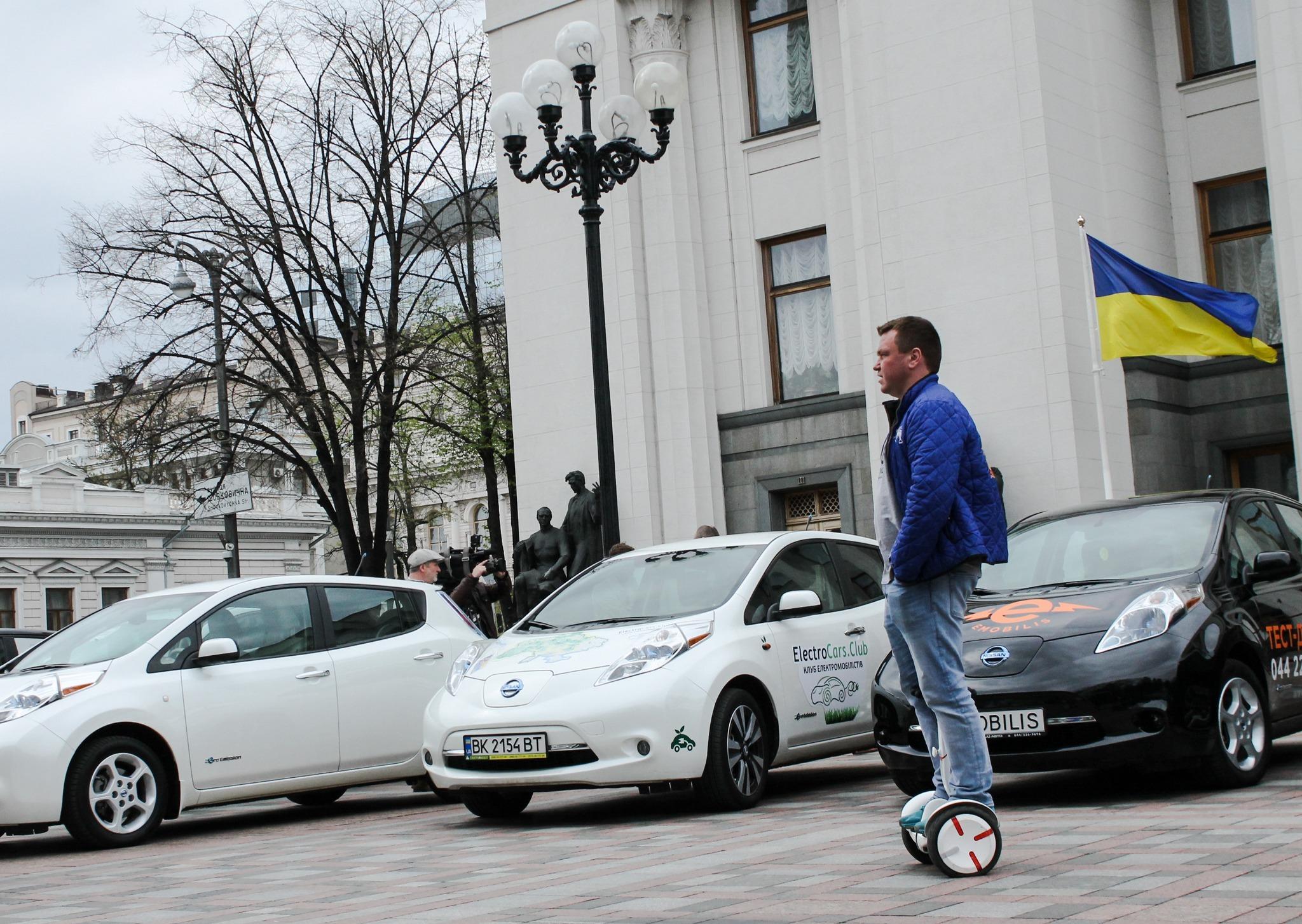 В Украине готовят презентацию стратегии развития электромобилей 1