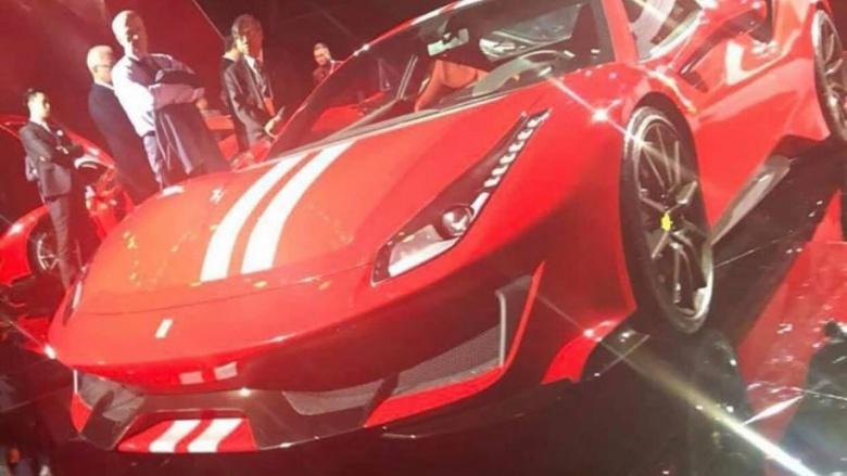 Ferrari представит новинку под названием «Pista» 1