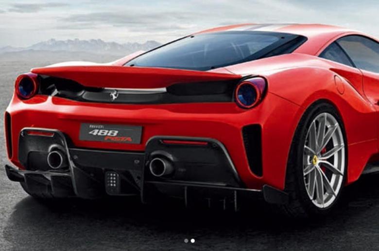 Ferrari представит новинку под названием «Pista» 2