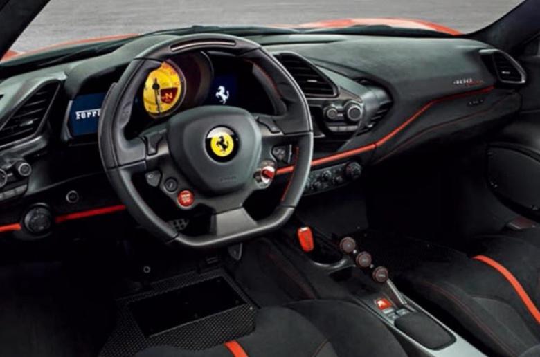 Ferrari представит новинку под названием «Pista» 3