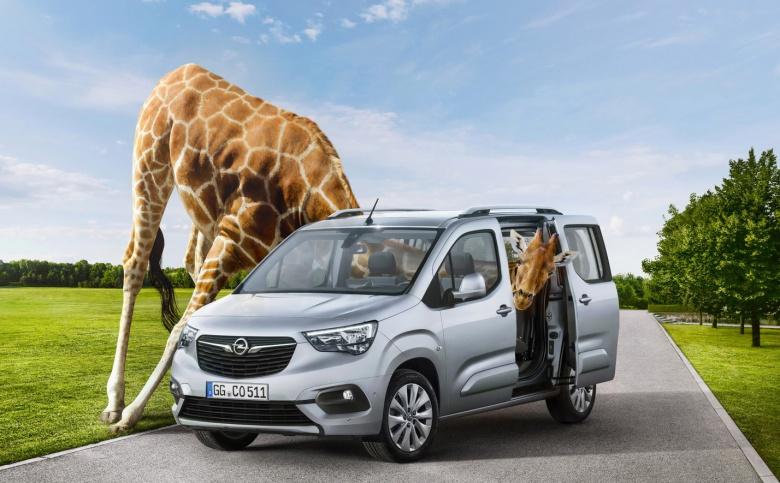 Opel представил «офранцуженный» фургон Combo Life 1