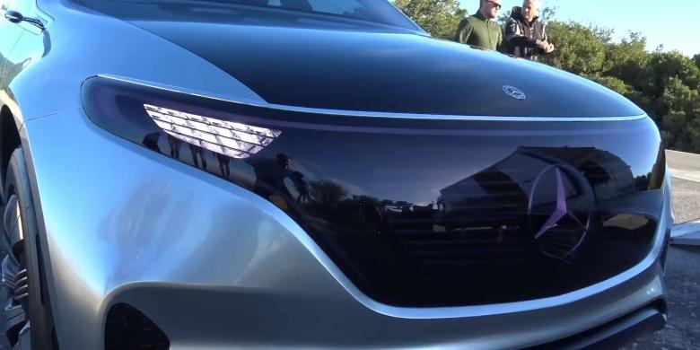 В Женеву едет предсерийный прототип Mercedes-Benz EQ 2