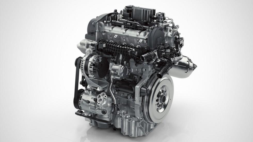 Компания Volvo впервые выпустила трехцилиндровый двигатель 1