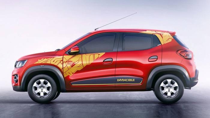 Хэтчбек Renault Kwid стал «супергероем» 1