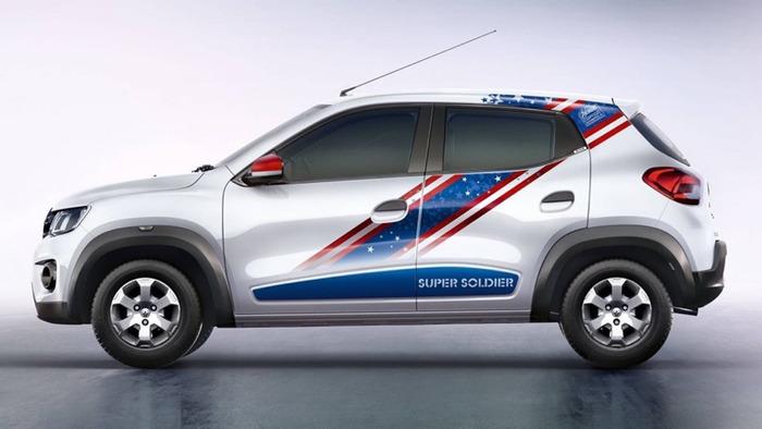 Хэтчбек Renault Kwid стал «супергероем» 2