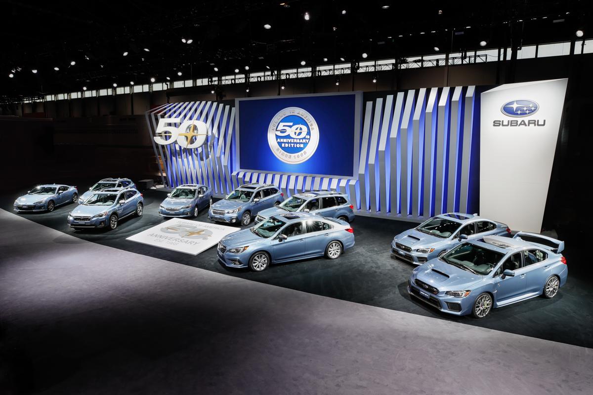 Subaru выпустит юбилейную серию автомобилей 1