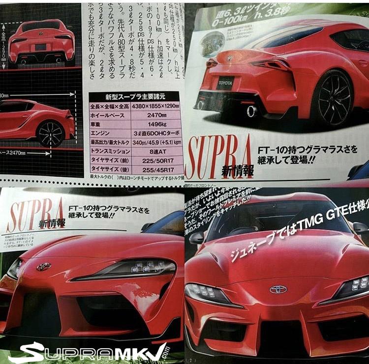 Новая Toyota Supra возможно не такая и новая 1