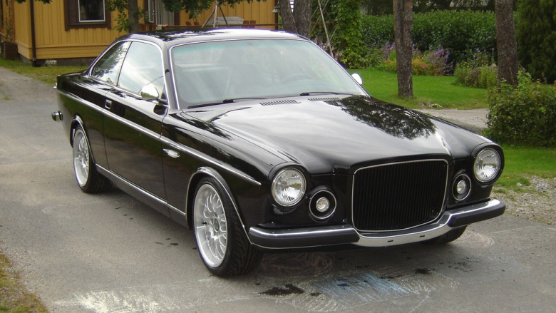 Из старого BMW сделали классический Volvo 1