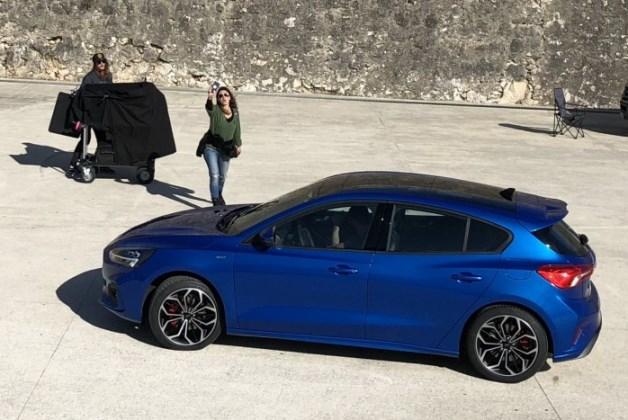 Новый Ford Focus «попался» без камуфляжа 1