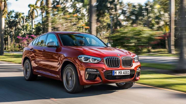 BMW официально презентовал новый X4 1