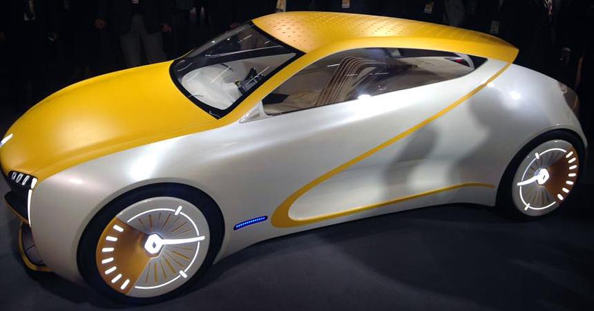Компания Renault презентовала концепт с деревянными сиденьями 3
