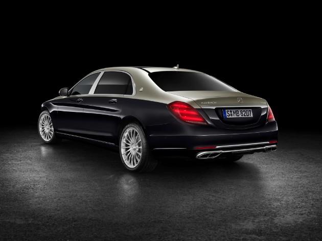Mercedes рассекретил новый Maybach 2