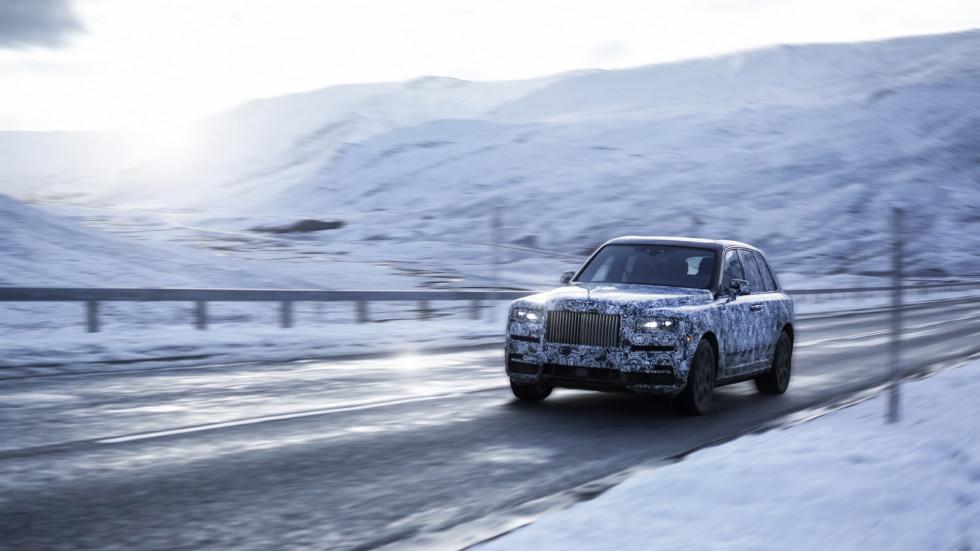 Rolls-Royce определился с названием для своего кроссовера 1