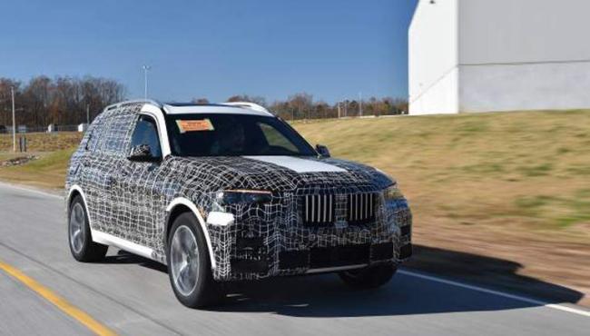 В BMW рассказали о премьере серийной версии X7 1