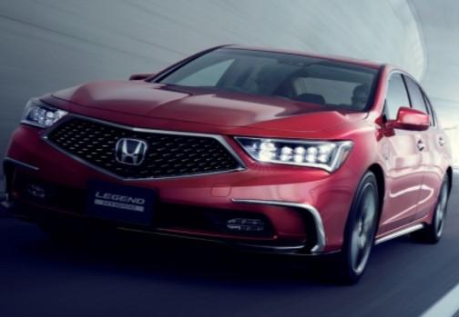 Honda обновила «Легенду» 1