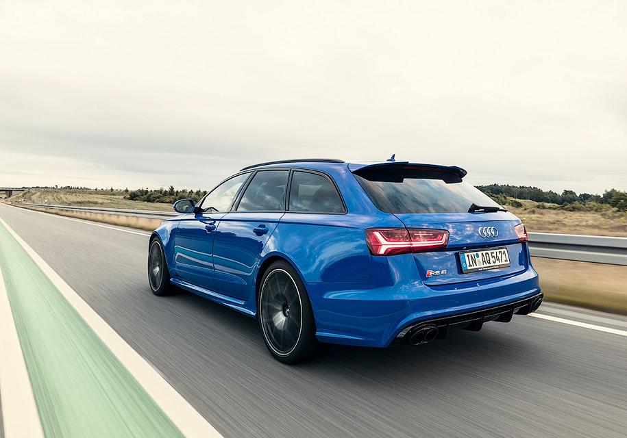 Audi выпустила «прощальный» универсал RS6 2